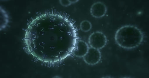 Cold Virus 4k 3x10 Second V2 Animation
