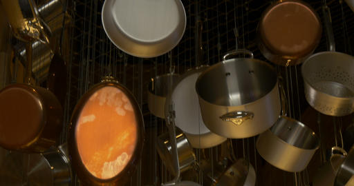 Cookware 01 stock footage