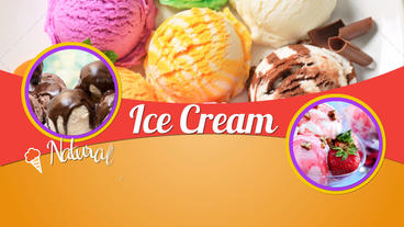 Ice Cream Factory stock footage