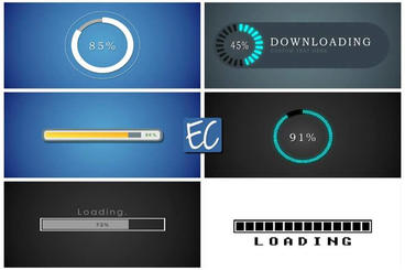 Loading Bars V 1 0 Editing Corporation stock footage