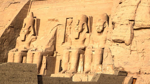Abu Simbel (11) stock footage