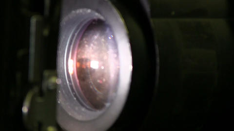 35mm Film Projector stock footage