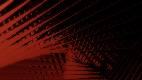 abstract red line with alpha Animation