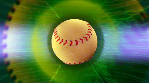 Baseball Background Loop stock footage