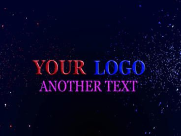 Colorful 3d Text Project (no Plugins) stock footage
