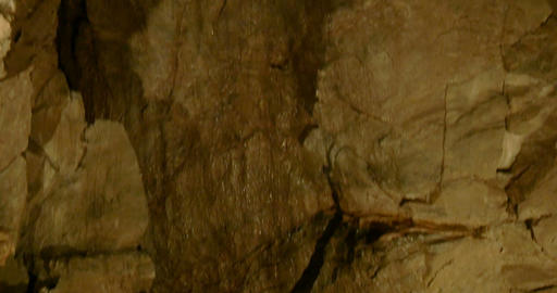 Cave Carbonate Rock 02 stock footage