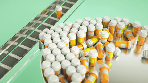 Pills And Drugs Production Line And Choosing Right One stock footage