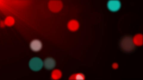 Soft Colored Circles With Flares stock footage