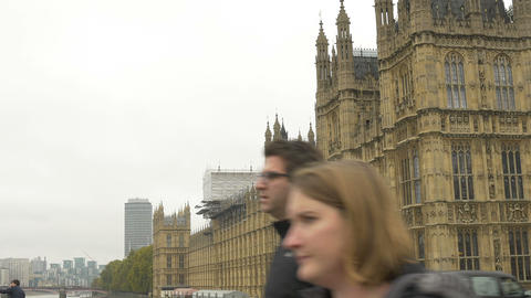 Great Britain House Of Parliament stock footage