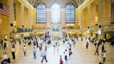 Commuters At Grand Central Station, New York City, New York, USA stock footage