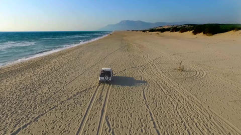 Patara Beach Safari stock footage