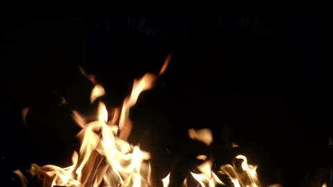 Fire Bottom stock footage