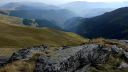 Walk In The Mountains And Valleys And Mountains Panorama 91 stock footage