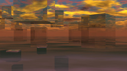 CG Title -Background Sky02 Animation