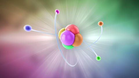 atom color Animation