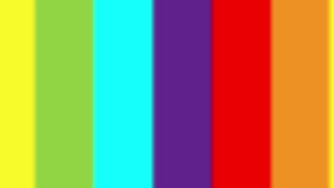 Rainbow Spectrum Color Out Of Focus Animation VJ Loop stock footage