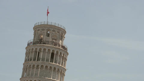 Leaning tower of Pisa Footage