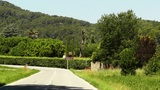Road In Rural Catalonia Spain stock footage