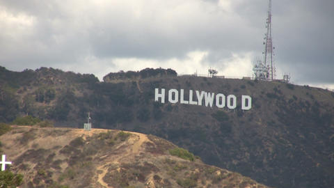 Hollywood Sign Footage