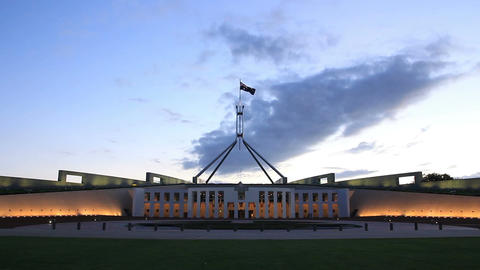 Canberra, Parliament House Footage